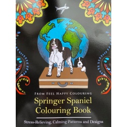 Springer Spaniel Colouring Book